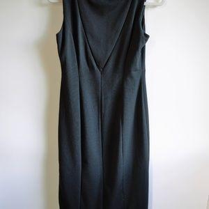 Banana Republic Dresses - Banana Republic Black Dress with Back Cutouts